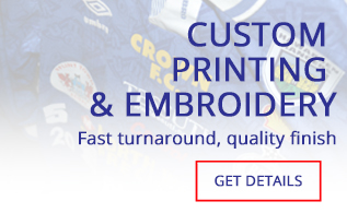 printing and embroidery, custom printing, custom clothing