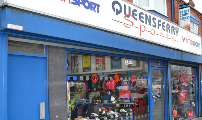 Queensferry Sports Shop, Deeside.